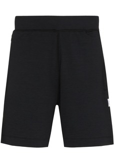 Reigning Champ logo-patch track shorts