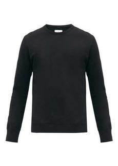 Reigning Champ Logo-patch cotton-terry sweatshirt