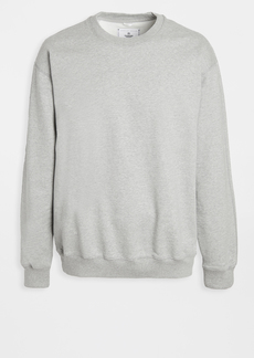 Reigning Champ Terry Relaxed Fit Crew Neck Sweatshirt