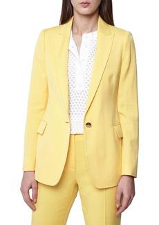 Reiss Haya Slub Texture Suit Jacket
