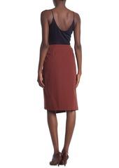 Reiss Larkby Wrap Midi Skirt