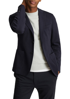 Men's Reiss Flex Classic Fit Solid Sport Coat