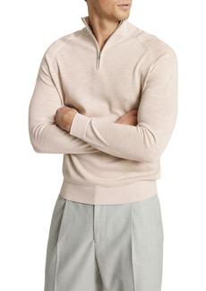 Men's Reiss Jack Slim Fit Quarter Zip Pullover