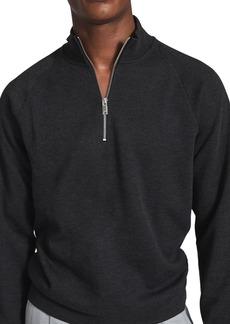 Men's Reiss Matty Slim Fit Quarter Zip Pullover