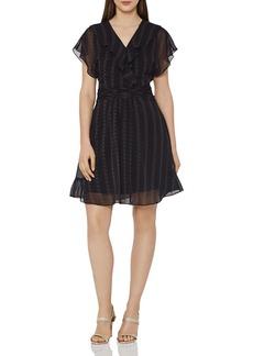 REISS Adie Printed Dress