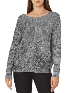 REISS Aida Space-Dye Pattern Sweater