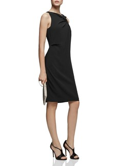 REISS Aliya Asymmetric Dress