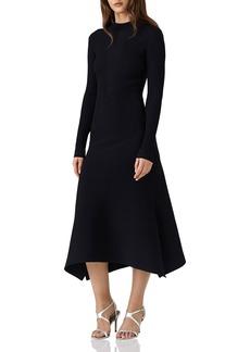 REISS Amanda Knit Midi Dress