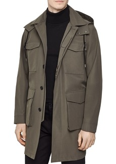 REISS Archer Trench Coat