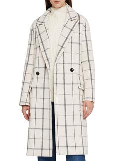 Reiss Atticus Check Wool Coat