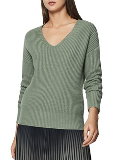 REISS Audrey Ribbed Sweater