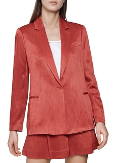REISS Ayla Textured Blazer