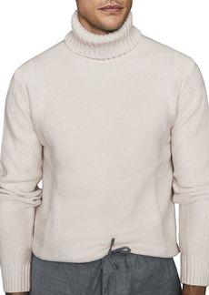 REISS Bernardo Roll-Neck Boucle Sweater