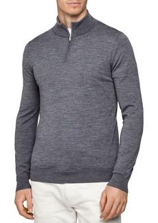 REISS Blackhall Wool Funnel Neck Sweater