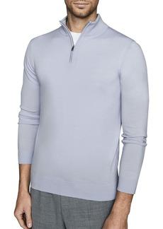 Reiss Blackhall Wool Quarter Zip Pullover
