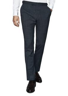 REISS Blunt T-Crepe Slim Fit Pants