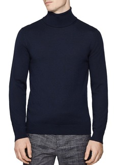 REISS Caine Rollneck Wool Sweater