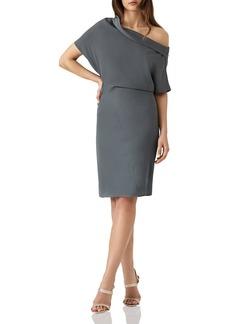 REISS Camilia Asymmetric Dress