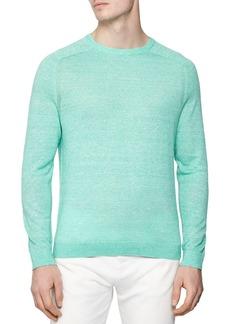 REISS Carsen Wool & Linen M�lange Crewneck Sweater