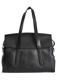 Reiss Chancery Leather Satchel