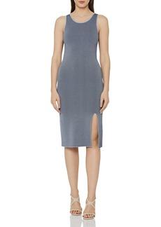 REISS Charlie Rib-Knit Dress