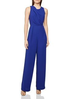 REISS Chey Back-Cutout Jumpsuit
