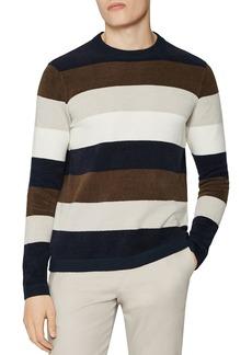 REISS Colorado Chanelle Stripe Crewneck Sweater
