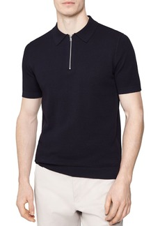 REISS Crown Half-Zip Shirt