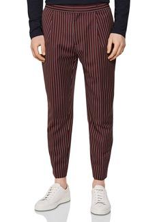 REISS Dam Striped Regular Fit Jogger Pants