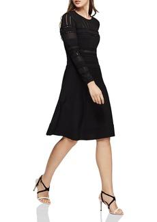 REISS Darcie Pointelle Dress