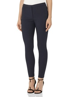 REISS Darlas Skinny Cropped Zip-Hem Pants