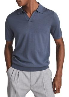 Reiss Duchie Wool Polo Shirt