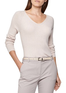 Reiss Eloise V-Neck Sweater