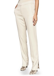 Reiss Farah Tuxedo Stripe Zip Cuff Trousers