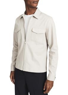 Reiss Gemini Slim Fit Zip Up Utility Jacket