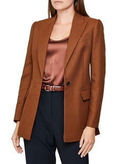 Reiss Hanbury Wool Blend Jacket