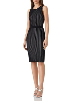 REISS Harper Ribbed-Knit Dress