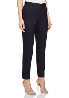 REISS Hartley Slim-Leg Textured Pants