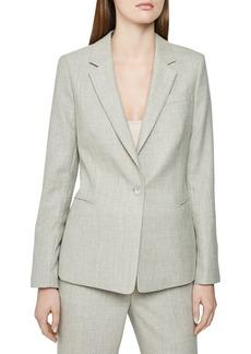 Reiss Hettie Wool Blend Suit Jacket