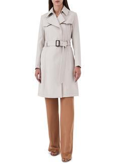 Reiss Hurley Belted Wool Blend Coat