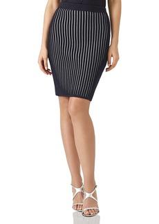 REISS Isabelle Ribbed-Knit Skirt