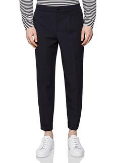 REISS Japane Drawstring Waist Regular Fit Pants