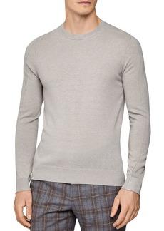 REISS Jinks Reverse-Seam Wool & Cashmere Crewneck Sweater