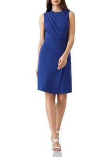 REISS Josephine Pleat-Detail Dress