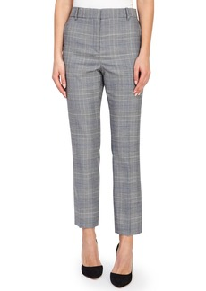 Reiss Joss Check Plaid Ankle Trousers