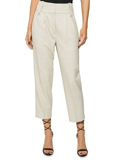 REISS Lauren High-Waisted Cropped Pants