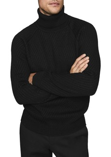 REISS Leith Turtleneck Sweater