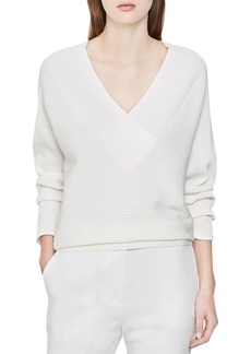 REISS Lilian Ribbed Sweater