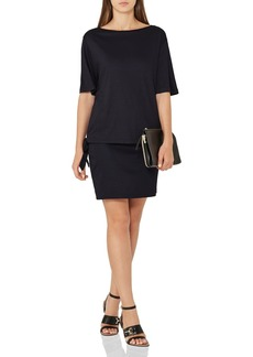 REISS Lorni Side-Tie Dress