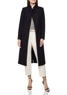 REISS Mason Wrap-Collar Coat